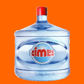 Agua Cimes en bidon retornable 12 lts.