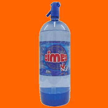 Soda Cimes en sifon descartable 2 tls.