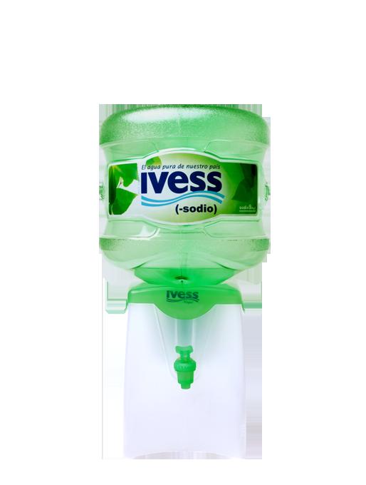 agua en botellon, bidon ivess bajo sodio zona oeste