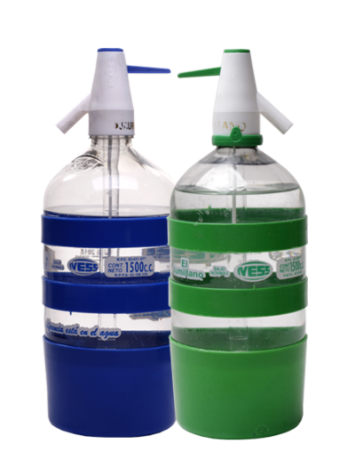 Soda IVESS en sifon retornable 1,5 lts